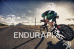 Trevor Wurtele on the bike course at Ironman Arizona on…
