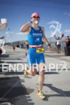 Julia Gajer in hot pursuit at Ironman Arizona on November…