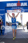 Julia Gajer (GER) is victorious at Ironman Arizona on November…