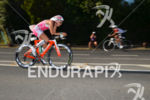 Valentina Carvallo leading the way on the bike at the…