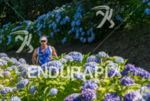 Age grouper running thru the flower path at the 2014…