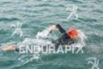 Javier Gomez swimming at the 2014 Ironman 70.3 Panama in…