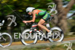 Heather Wurtele riding at the 2014 Ironman 70.3 Panama in…