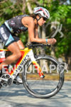 Angela Naeth on the bike at the 2014 Ironman 70.3…