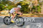 Heather Jackson on the bike at the 2014 Ironman 70.3…