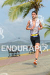 Bertrand Billar running at the 2014 Ironman 70.3 Panama in…