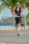Bevan Docherty running at the 2014 Ironman 70.3 Panama in…