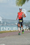 Axel Zeebroek running at the 2014 Ironman 70.3 Panama in…