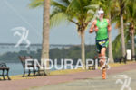 Trevor Wurtele running at the 2014 Ironman 70.3 Panama in…