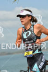 Angela Naeth running at the 2014 Ironman 70.3 Panama in…