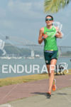 Heather Wurtele running at the 2014 Ironman 70.3 Panama in…