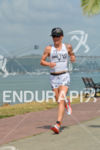 Heather Jackson running at the 2014 Ironman 70.3 Panama in…