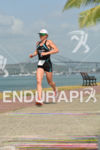 Mary Beth Ellis running at the 2014 Ironman 70.3 Panama…