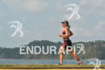 Natascha Badmann running at the 2014 Ironman 70.3 Panama in…