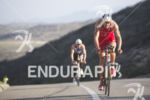 Jan Frodeno (DEU) riding to victory at the Ironman 70.3…