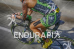 Heather Jackson during the bike leg at the Ironman 70.3…