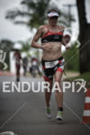 Amanda Stevens runing at the 2014 Ironman 70.3 Brasilia in…