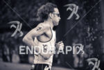 Tim Don runing at the 2014 Ironman 70.3 Brasilia in…