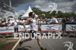 Tim Don running for victory at the 2014 Ironman 70.3…