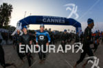Athletes taking place on the start line of the 2014…