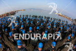 Start of the 2014 Cannes International Triathlon, on April 13th,…
