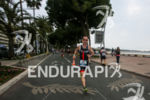 AG athlete during the 2014 Cannes International Triathlon, on April…