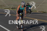 Merdith Kessler on bike at the  Ironman 70.3 St. George…