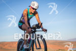 Linsey Corbin (USA) on bike at the  Ironman 70.3 St.…