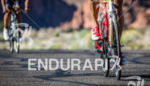 Jordan Rapp on bike at the  Ironman 70.3 St. George…