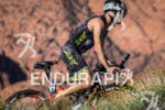 Jess Vonracek bikes through Snow Canyon State Park at the…
