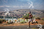 Michi Weiss on run at the  Ironman 70.3 St. George…