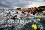 Swim start at the 2014 Ironman Lanzarote on May 17,…