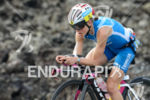 Lucy Gossage on the bike early in the race at…