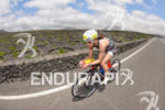Reguka Rohrbach on the bike portion of the 2014 Ironman…
