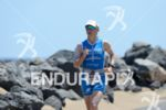 Sonja Tajsich on the run at the 2014 Ironman Lanzarote…
