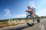 Boris Stein during the bike leg of the 2014 Ironman…