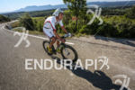 Bertrand Billard during the bike leg of the 2014 Ironman…