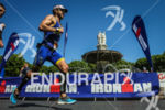Jeremy Jurkievicz  during the run leg of the 2014 Ironman…