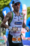 Frederik Van Lierde trying to maintain his 3rd place during…