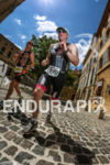 Age Group athlete during the run leg of the 2014…