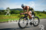 Sara Gross riding at the 2014 Ironman Florianopolis in Florianopolis,…
