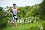 Marcel Zamora running at the 2014 Ironman Florianopolis in Florianopolis,…