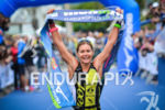Sara Gross wins the 2014 Ironman Florianopolis in Florianopolis, Brazil…