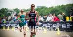Helen Jenkins GBR on the run at the 2014 London…