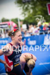 Jodie Stimpson GBR at the 2014 London ITU Triathlon in…