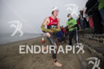 Josh Amberger dominating the swim leg at Escape From Alcatraz…