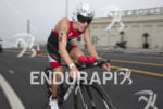 Josh Amberger dominates the bike course at Escape From Alcatraz…