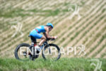 Julia Gajer on the bike at the 2014 Challenge Kraichgau…