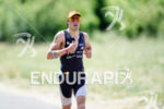 Sebastian Kienle on the run at the 2014 Challenge Kraichgau…