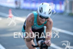 Linsey Corbin on the bike at the 2014 Ironman Austria…
